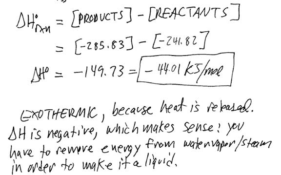 Thermochemistry Lecture Notes